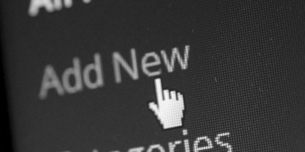 Computer cursor rollover - add new