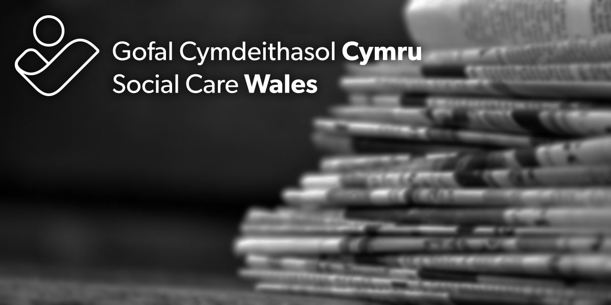 Social Care Wales - update